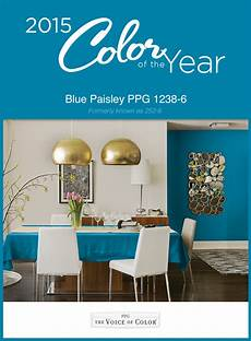 the 2015 paint color of the year presented by voice of color