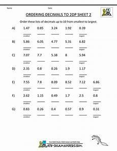 decimal point worksheets 7262 free decimal worksheets ordering decimals 2dp 2 gif 1 000 215 1 294 pixels decimals worksheets