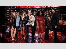 finalists on the voice tonight