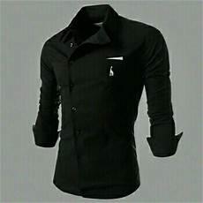 baju kemeja lengan panjang pria terbaru desain keren ryn fashion