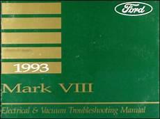 auto manual repair 1993 lincoln mark viii electronic valve timing 1993 lincoln mark viii electrical and vacuum troubleshooting manual