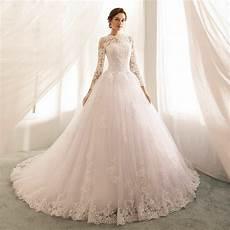 princess aline sleeved open back wedding dresses almette 2019 princess sleeve lace wedding dresses boat neck
