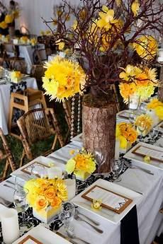 Black And Yellow Wedding Ideas