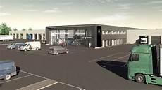 Mercedes Herbrand Baut Neues Nfz Center Gr 246 223 Er Als