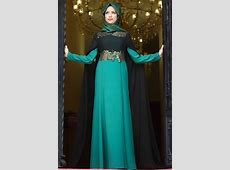 Abaya and Hijab in Funky Colors ? Girls Hijab Style