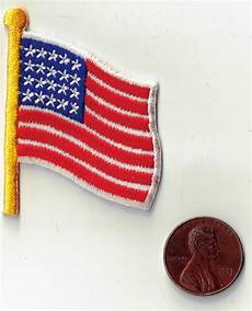 applique iron american flag iron on applique embroidered sewing fabric