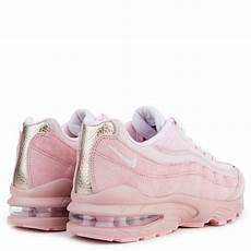 grade school nike air max 95 sheen pearl pink prism pink