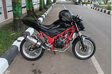 Honda Cb150r Modifikasi by Modifikasi Honda Cb150r Fighter Style Biker Plus