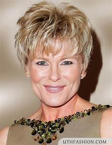 short hairstyles for 50 year old woman hairstyle for