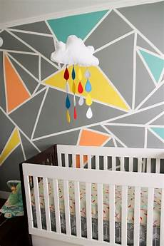 a stunning apartment with colorful geometric archer s colorful nursery with geometric elements