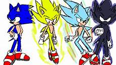 sonic super forms 2 by ichirozuri on deviantart