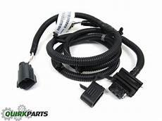 2010 jeep jk wiring harness 2007 2016 jeep wrangler jk 4 way trailer tow wiring harness mopar oem new ebay