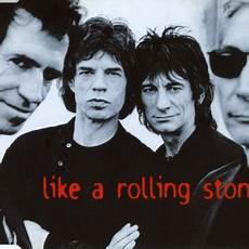 testi rolling stones like a rolling traduzione the rolling stones