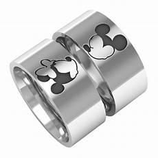 mickey minnie ring mice rings mickey minnie bands by bandrings