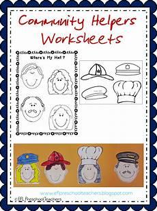 esl efl preschool teachers community helpers worksheets