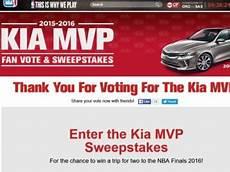 Kia Sweepstakes by Kia Motors Mvp Sweepstakes