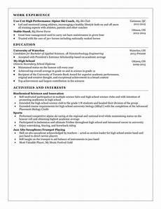 resume templates waterloo engineering society