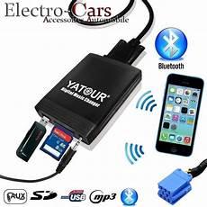 telephone bluetooth voiture peugeot interface usb bluetooth mp3 autoradio peugeot 106 206 307