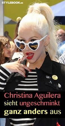 Aguilera Ungeschminkt Sieht Fast Aus Wie Ein