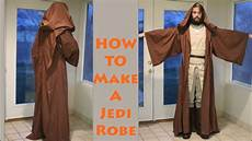how to make a jedi robe out of a sheet how to make a jedi robe youtube