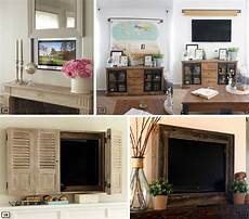 22 Ideas For Disguising A Tv Bnbstaging Le