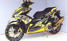 Modif Aerox Kuning by Gambar Modifikasi Aerox 155 Kuning Bumble Bee