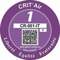 certificat de l air certificat de qualit 233 de l air crit air certificat