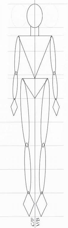 the nine heads template figure illustration martel fashion