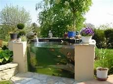 bassin koi interieur gorgeous glass wall koi pond ponds backyard outdoor