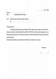 doc surat pemberitahuan pembatalan faktur ke kpp docx apriyantho aprigg academia edu