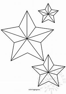 five pointed shape coloring page