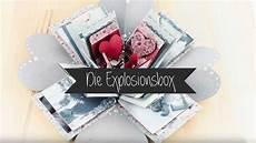 Explosionsbox Basteln Diy Geschenk Valentinstag