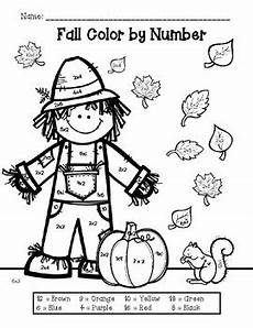 color by number fall coloring pages 18108 free fall color by number multiplication by abby sandlin tpt