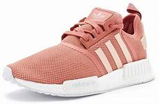 adidas nmd r1 primeknit trainers in vapour pink