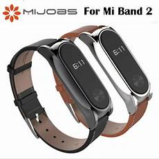 Mijobs Leather Bracelet Replacement Xiaomi Miband by 100 Official Original Mijobs Leather For Xiaomi