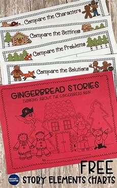 printables for kindergarten 20450 comparing versions of the gingerbread turning readers into thinkers gingerbread