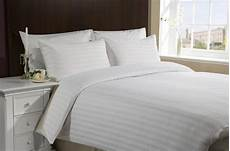 buy flat sheets with satin stripes 300 tc white online
