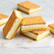 schnelle keks sandwiches mit vanillecreme rezept