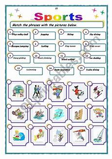 summer sports worksheets 15878 sports activities esl worksheet by sanbs
