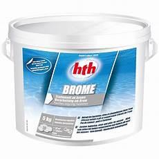 hth brome lent pour piscine chimie seau de 5 kg