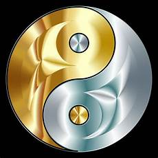 Malvorlagen Yin Yang Foto Clipart Gold And Silver Yin Yang Ying Yang Symbol Yin