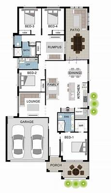 townsville builders house plans berkshire 4 large 4 bedroom house floor plan by
