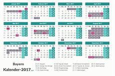 Ferien Bayern 2017 Ferienkalender 220 Bersicht