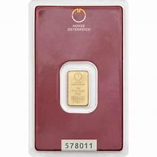 gold bar 2g austrian mint