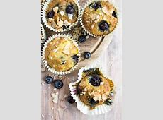 coconut blueberry muffins_image