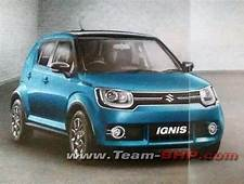 Brochure Of Maruti Suzuki Ignis Leaked