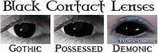 black contact lenses sclera contacts blackout