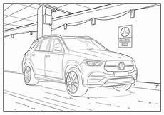 Malvorlagen Lkw Mercedes Coloriages Mercedes