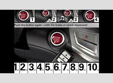 2013 Honda Accord Sedan   Smart Entry & Push Button Start