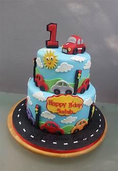 1st birthday car cake birthday cake boys birthday